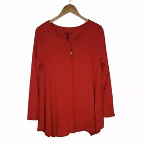 Neon Buddha Corsica Top Thermal Red Size S NEW